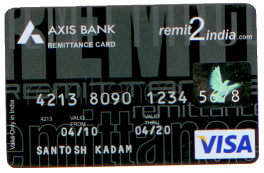 R2I Remittance card