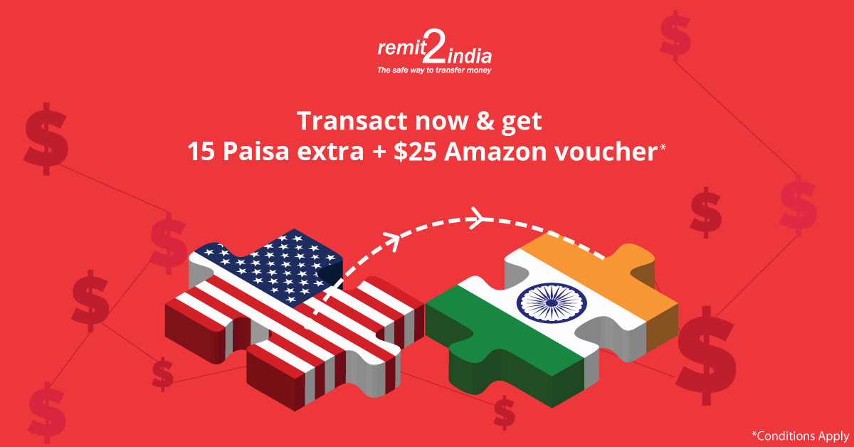 remit2india offers | Remit2India-The safe way to transfer money